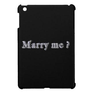 Marry me Hard shell iPad Mini Case