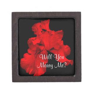 Marry Me Iris Engagement Ring Gift Box