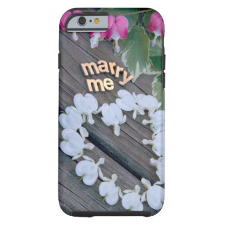 """Marry Me"" jjhélène Case-Mate Tough iPhone 6 Case"