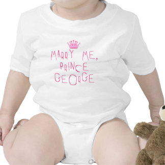 Marry Me Prince George Bodysuits
