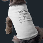 """Marry me? tee<br><div class=""""desc"""">Has to be one of the cutest ways to propose to a gal who loves her dog almost as much as you!! It says &quot;Katie will you marry me? PS: Scrappy says we should&quot;. You can personalize the name and even the personal note at the end, make her smile with...</div>"""