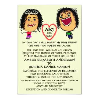 Marry My BFF Wedding Invite