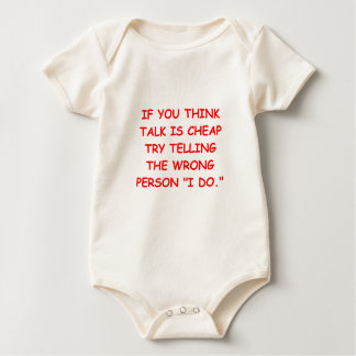 MARRY.png Baby Bodysuit