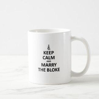 Marry the Bloke Coffee Mug
