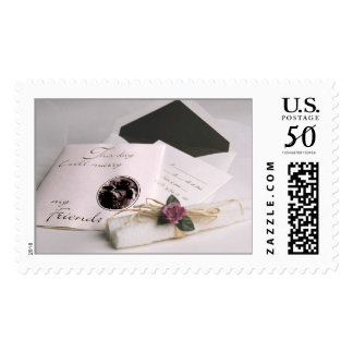 Marrying My Friend (1) Wedding Invitation Postage