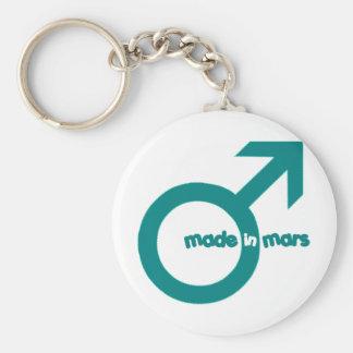 mars3 basic round button keychain