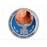 Mars 101 Crew 128B Postcards