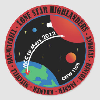 Mars 101 Sticker 2011