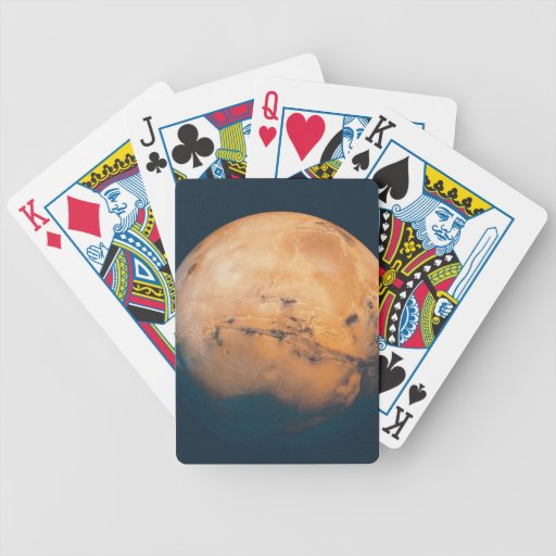 Mars 10 bicycle playing cards