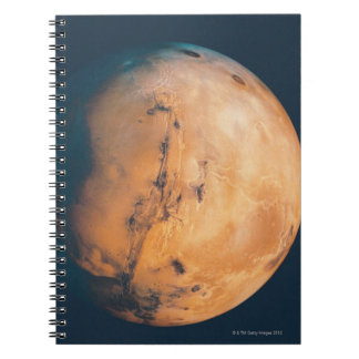 Mars 10 spiral note books