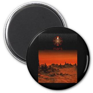 Mars 2 Inch Round Magnet