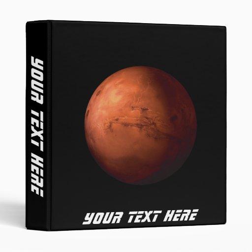Mars 3 Ring Binders