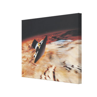 Mars 4 stretched canvas prints