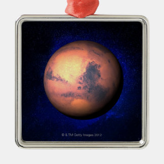 Mars 5 metal ornament