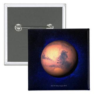 Mars 5 pinback button