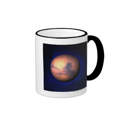 Mars 5 ringer coffee mug