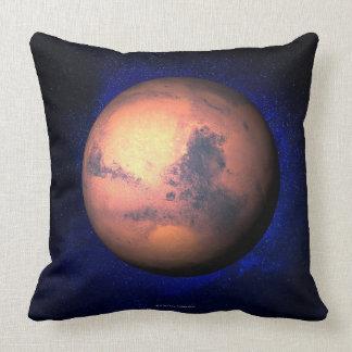 Mars 5 throw pillow
