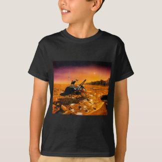mars-633971 MARS COLONY ORANGE SAND PLANET FANTASY T-Shirt