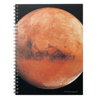 Mars 6 spiral note books