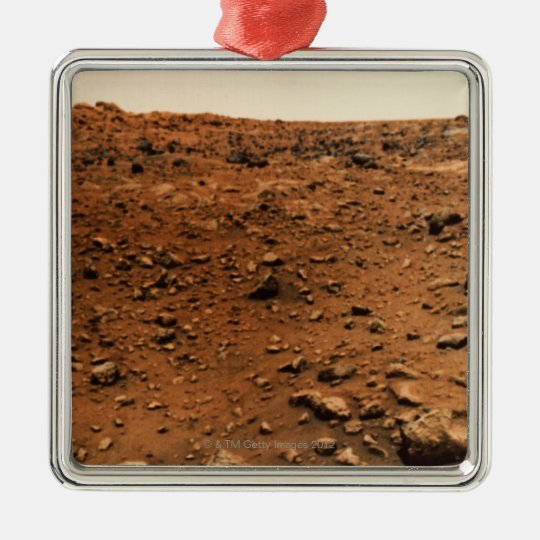 Mars 9 metal ornament