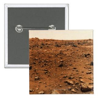 Mars 9 pinback button