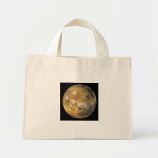 Mars!  A beautiful image from space.  NASA Mini Tote Bag