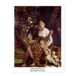 Mars And Venus By Paolo Veronese Postcard