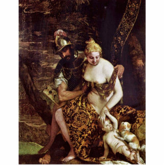 Mars And Venus By Veronese Paolo (Best Quality) Photo Cutout