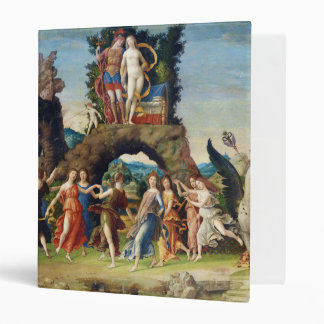 Mars and Venus La Parnasse by Andrea Mantegna 3 Ring Binder
