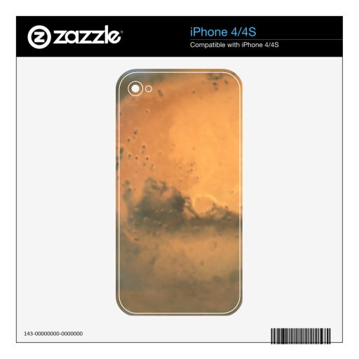 Mars at 43 Million Miles From Earth iPhone 4 Decals