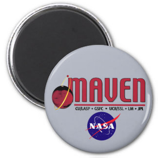 Mars Atmosphere and Volatile EvolutioN Fridge Magnet