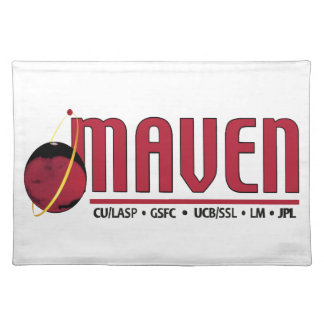 Mars Atmosphere and Volatile EvolutioN (MAVEN) Cloth Placemat