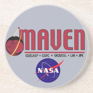 Mars Atmosphere and Volatile EvolutioN (MAVEN) Drink Coasters