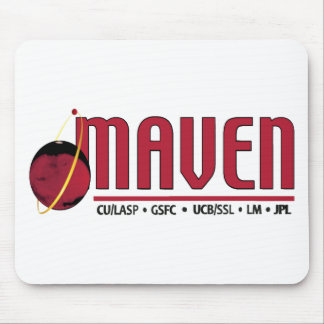 Mars Atmosphere and Volatile EvolutioN (MAVEN) Mouse Pad