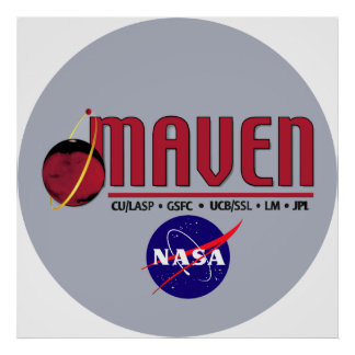 Mars Atmosphere and Volatile EvolutioN (MAVEN) Poster