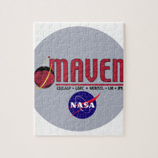 Mars Atmosphere and Volatile EvolutioN MAVEN Jigsaw Puzzle