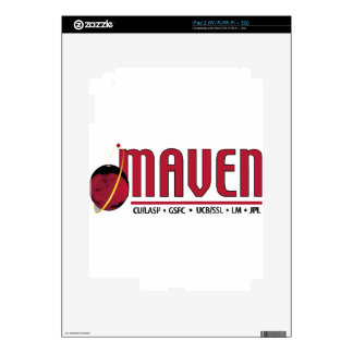 Mars Atmosphere and Volatile EvolutioN MAVEN iPad 2 Decal