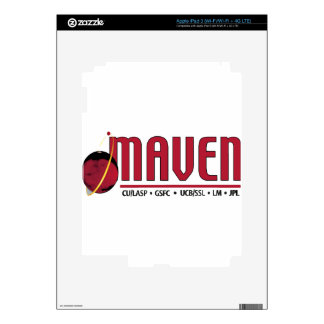 Mars Atmosphere and Volatile EvolutioN MAVEN iPad 3 Decal