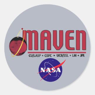 Mars Atmosphere and Volatile EvolutioN (MAVEN) Sticker