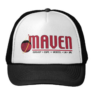 Mars Atmosphere and Volatile EvolutioN (MAVEN) Trucker Hat