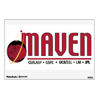 Mars Atmosphere and Volatile EvolutioN (MAVEN) Wall Sticker