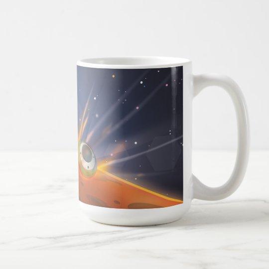 Mars atmospheric entry spacecraft coffee mug