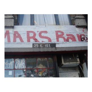 MARS BAR POSTCARD
