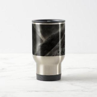Mars Black & White Travel Mug