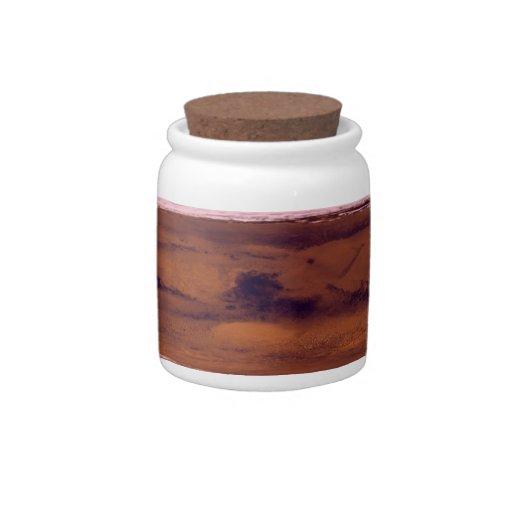 mars candy jar