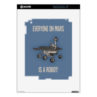 Mars Census Decals For The iPad 2