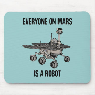 Mars Census Mouse Pad