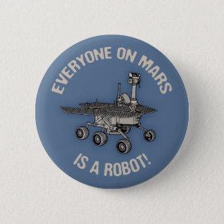 Mars Census Pinback Button