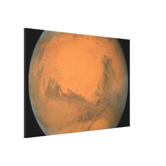 Mars- Closest Approach 2007 Gallery Wrap Canvas