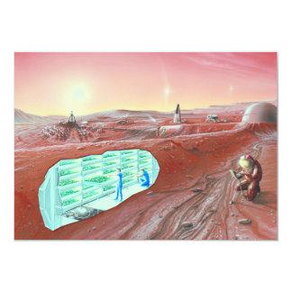 Mars colony card